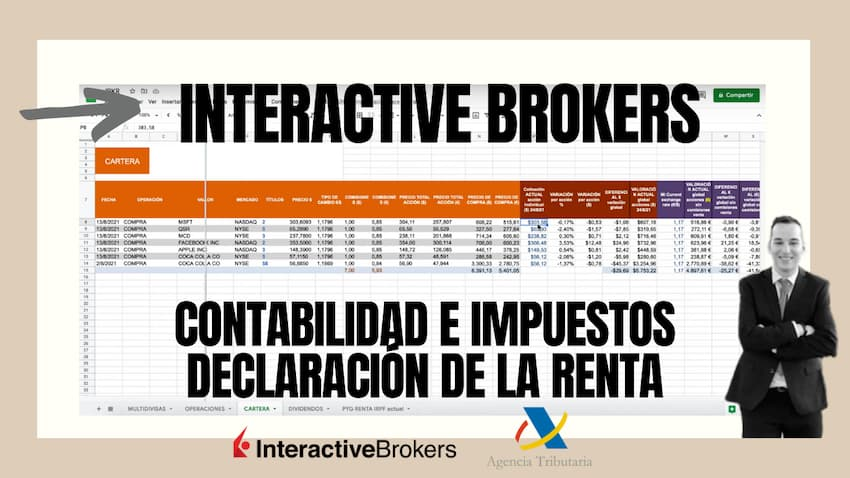 Interactive Brokers Declaracion Renta Broker Acciones