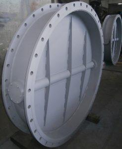 Поставка клапанів дросельних Dn1400 на ММК ім. Ілліча