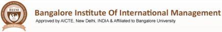 Bangalore Institute of International Management Bangalore