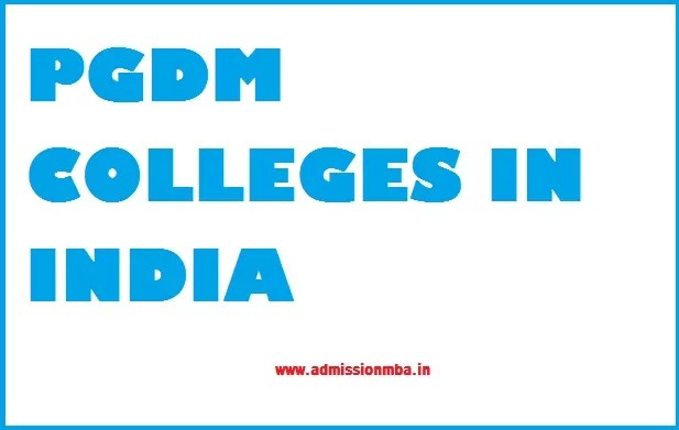 PGDM Colleges in India