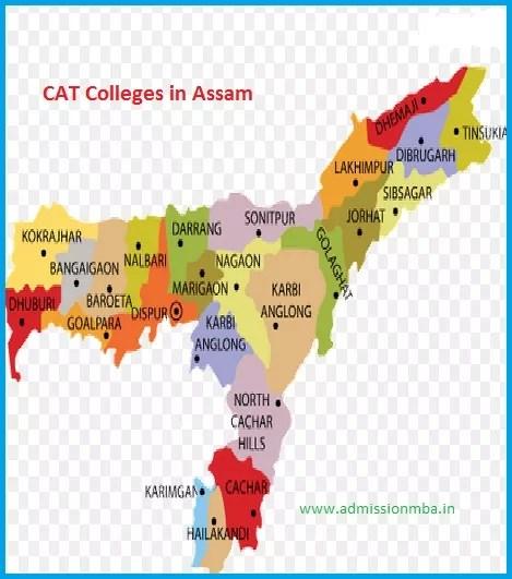 MBA Colleges Accepting CAT score in Assam