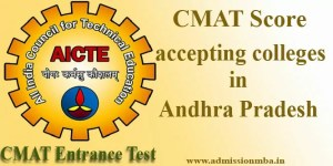 CMAT Score accepting colleges in Andhra Pradesh