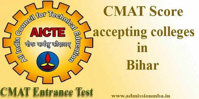 CMAT Score accepting colleges in Bihar
