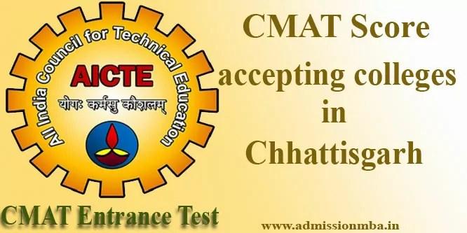 Top CMAT Colleges in Chhattisgarh
