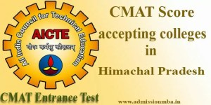 CMAT Score accepting colleges in Himachal Pradesh