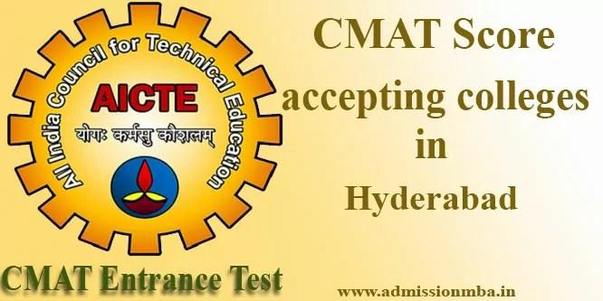Top CMAT Colleges in Hyderabad