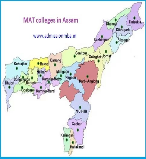 MBA Colleges Accepting MAT score in Assam