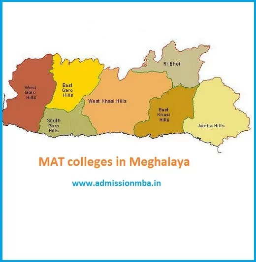 MBA Colleges Accepting MAT score in Meghalaya