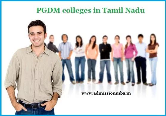 PGDM colleges Tamil Nadu