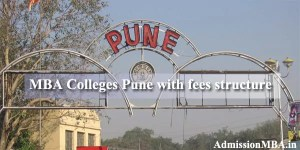 MBA Colleges in Pune With Fees Structure
