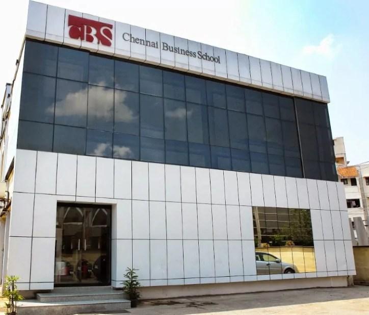 CBS Chennai Admission 2019