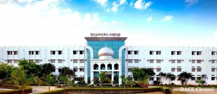 DACE Chennai Admissions 2019