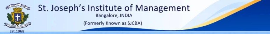 Post Graduate Diploma in Management - SJIM Bangalore