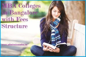 Details for MBA Colleges Bangalore Fee Structure