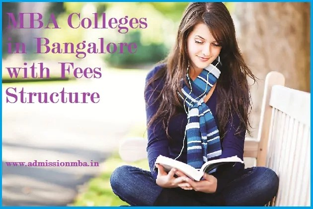MBA Colleges Bangalore Fee Structure