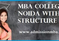 MBA Colleges in Noida with Fees Structure