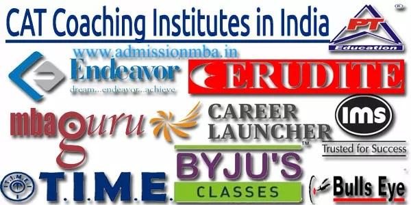 CAT Coaching Institutes in India
