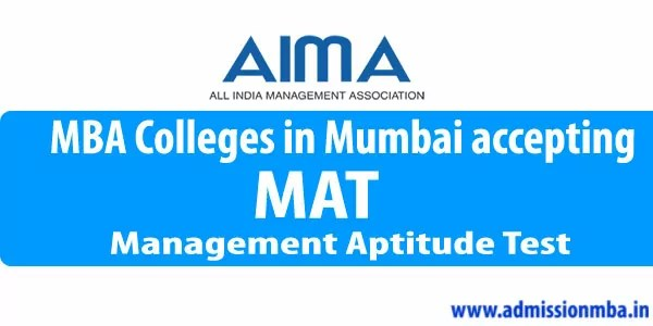 MAT colleges in Mumbai