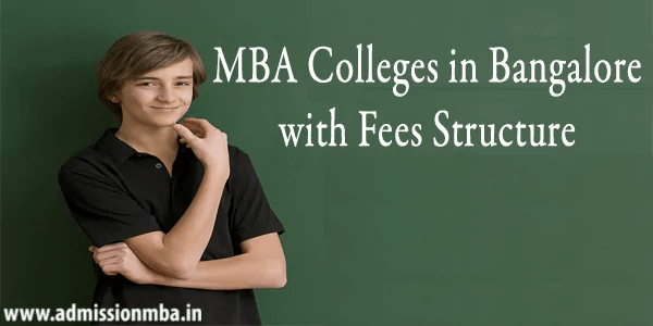 MBA Colleges Bangalore with Fees
