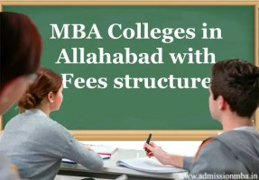 MBA Colleges in Allahabad with Fees structure