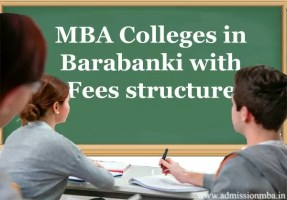 MBA Colleges in Barabanki with Fees structure