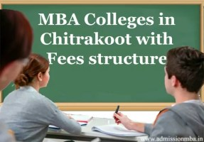 MBA Colleges in Chitrakoot with Fees structure
