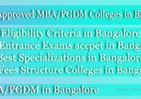 AICTE approved B-School in Bangalore