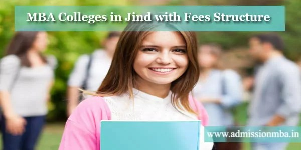 MBA Colleges in Jind with Fees Structure
