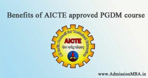 Why choose AICTE approved PGDM program?
