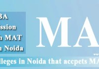 MBA Colleges Noida accepts MAT score