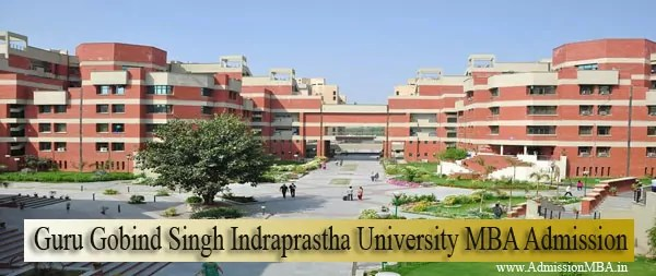 Guru Gobind Singh Indraprastha University MBA Admission