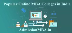 Popular Online MBA Colleges in India