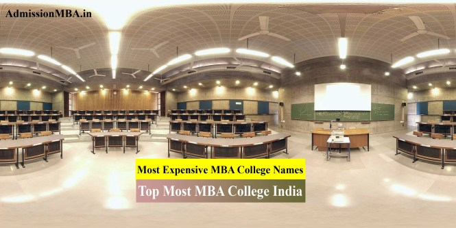 Most Expensive MBA College Names