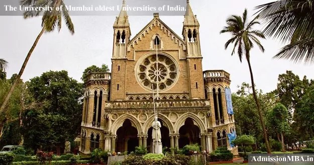 University of Mumbai oldest Universities of India.