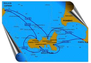 Crociera di una settimana Isola Elba e Capraia