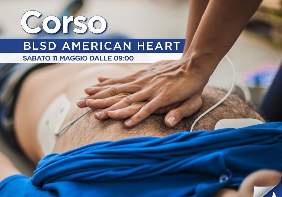 Corso BLSD American Heart Sabato 11 Maggio