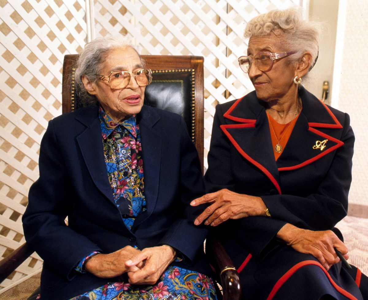 She Was A Friend Of Rosa Parks A Student Of Thurgood