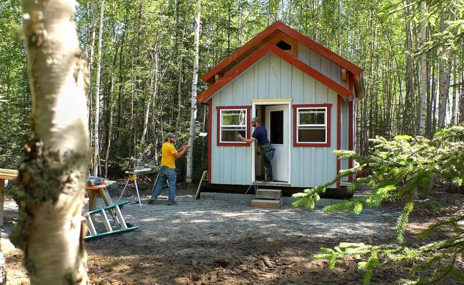 Want To Park A Tiny House In Anchorage It Might Be Hard
