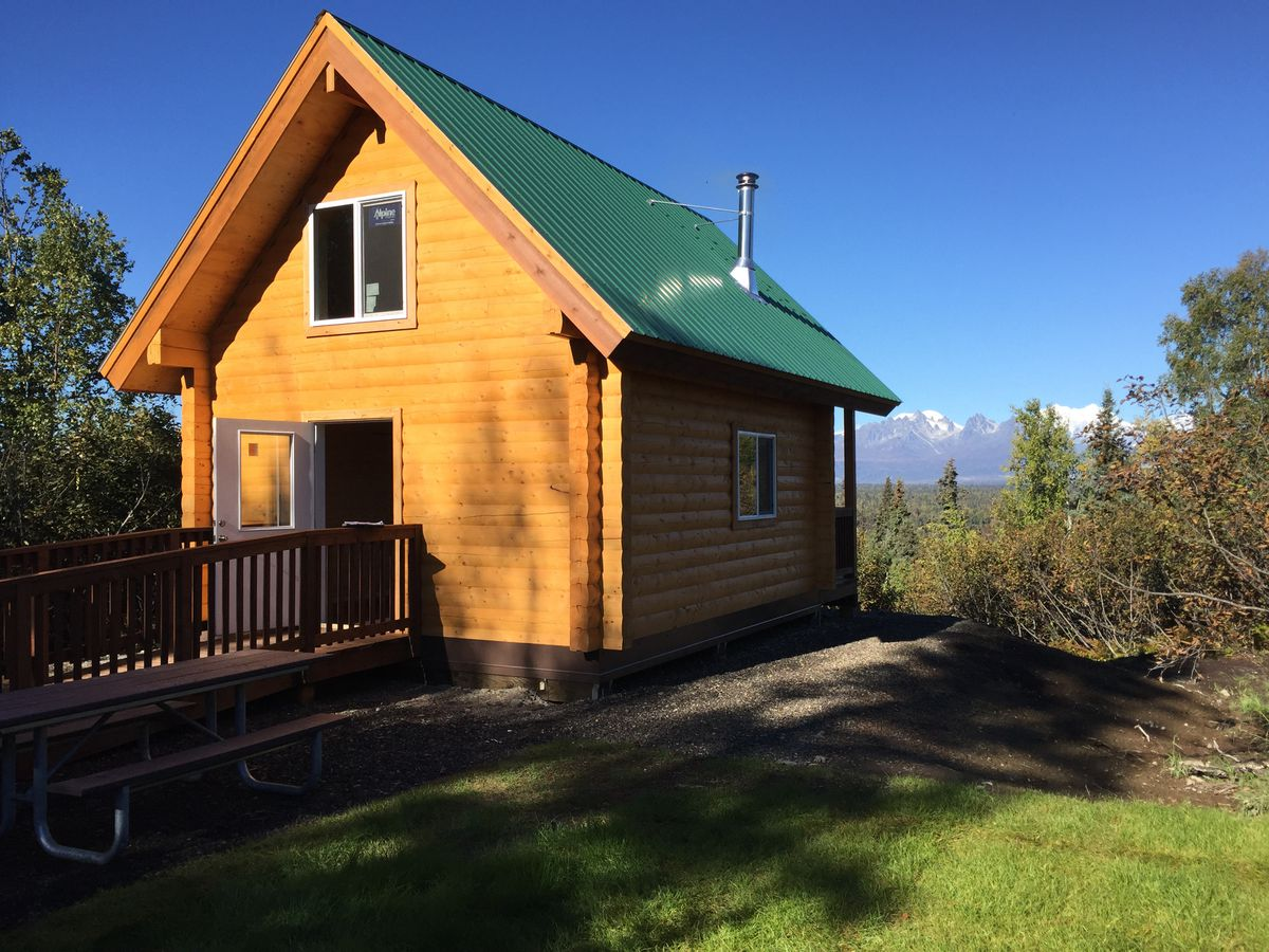 This new Parks Highway campground is sure to become one of