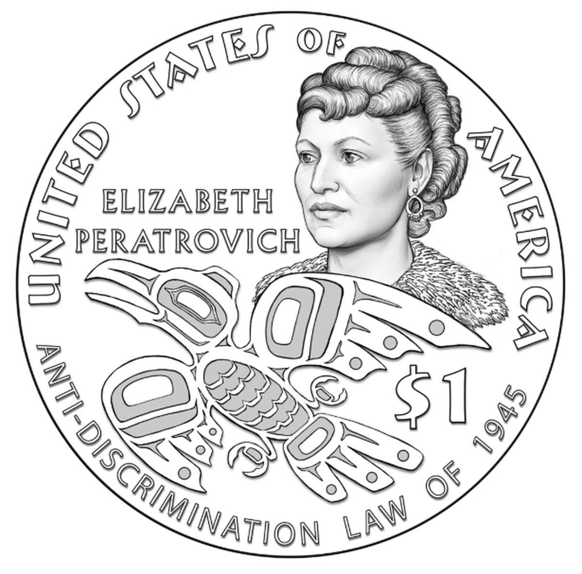 Alaska Native leader Elizabeth Peratrovich commemorated on