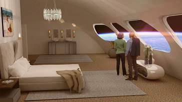 Out-of-this-world uzay oteli, 2027 yılında açılmıştır. Voyager sınıfı uzay istasyonu adlı otel, dünyanın ilk uzay oteli olacak ve 400 kişiyi ağırlayabilecektir.