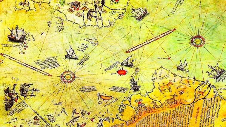 Piri Reis'in haritası 1929'da keşfedilene kadar birkaç yüzyıl boyunca 'gizlendi'. Bu haritanın en şaşırtıcı yanı, tarih ders kitaplarının söylediği gibi, 1820'ye kadar hakkında hiçbir şeyin bilinmediği bir kıtayı - Antarktika'yı tasvir etmesidir.