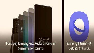 Samsung, bugün internet tarayıcısı Samsung Internet'in yayınlanacak yeni versiyonu 14.0'ın beta sürümünü yayınladı. Sürümle birlikte internet tarayıcısına birkaç yeni özellik de eklendi.