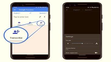 Google Translate, şu anda yalnızca Android için kullanılabilen yeni bir Transcribe özelliği başlattı. Bu yeni özellik, sesi gerçek zamanlı olarak çevirmenizi ve yazmanızı sağlar.