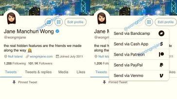"""Twitter'ın yeni bir özellik üzerinde çalıştığı ortaya çıktı. Bu özellik ile kullanıcılar, kendileri için bir """"bahşiş kutusu"""" oluşturabilecekler. Böylelikle diğer Twitter kullanıcıları, farklı ödeme araçlarını kullanarak paylaşımlarını beğendikleri kullanıcıları maddi olarak destekleyebilecekler."""
