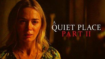 John Krasinski'nin yazıp yönettiği A Quiet Place Part II'nin final fragmanı yayınlandı. 20 Mart'ta vizyona girmesi planlanan gerilim filminin pandemi nedeniyle ertelenmesinden dolayı, ikinci vizyon tarihine az bir süre kala yeni fragmanı yayınlandı.