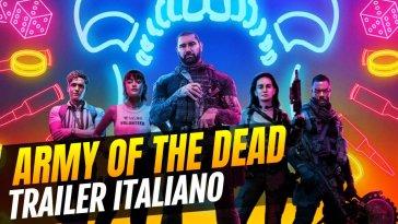 Son dönemin popüler yönetmenlerinden Zack Snyder'ın yeni Netflix filmi Army Of The Dead'in ilk 15 dakikası YouTube üzerinden Türkçe altyazılı bir şekilde paylaşıldı.