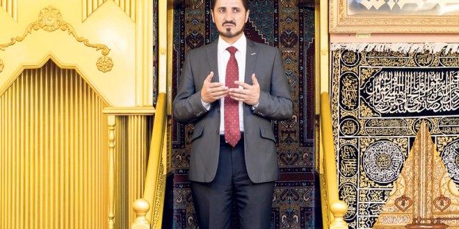 Adnan Ibrahim, le 7 avril, dans la mosquée Al-Choura, du quartier de Leopoldstadt, à Vienne. (Marko Kovic)