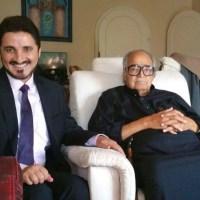 الشيخ صالح كامل وأبناؤه في ضيافة الدكتور عدنان إبراهيم