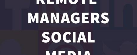 Remote-social-Media-Manager